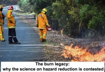 the burn legacy: why the science on hazard reduction is contested