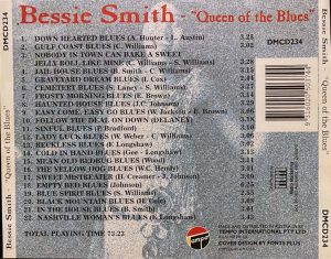 cream of the crate: album review # 122 – bessie smith: queen of the blues