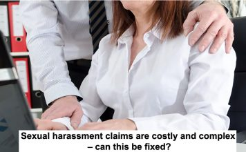 sexual harassment claims are costly and complex – can this be fixed?
