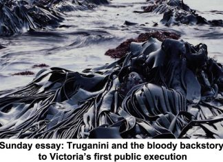 sunday essay: truganini and the bloody backstory to victoria's first public execution