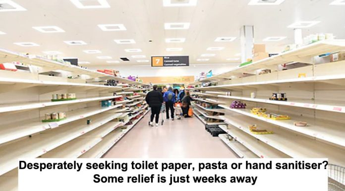 desperately seeking toilet paper, pasta or hand sanitiser? some relief is just weeks away