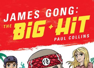 paul collins author of james gong: the big hit