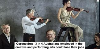 coronavirus: 3 in 4 australians employed in the creative and performing arts could lose their jobs