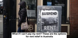 what if i can't pay my rent? these are the options for rent relief in australia