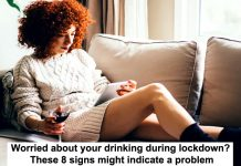 worried about your drinking during lockdown? these 8 signs might indicate a problem