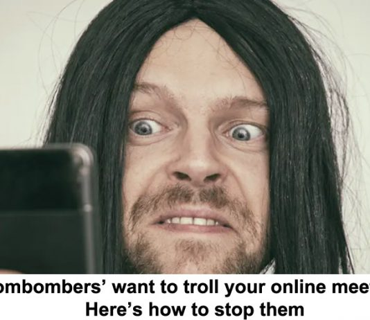 'zoombombers' want to troll your online meetings. here's how to stop them