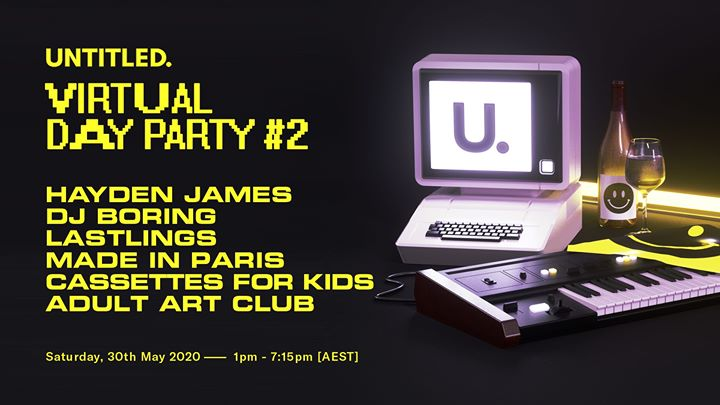 untitled group — virtual day party #2
