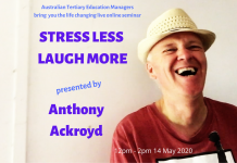 stress less laugh more online!
