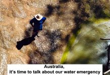 australia, it's time to talk about our water emergency