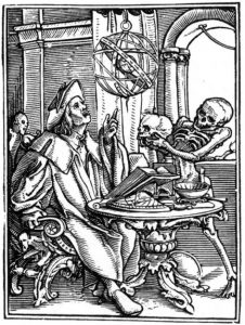 before epidemiologists began modelling disease, it was the job of astrologers