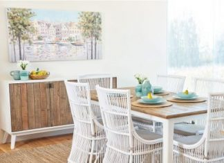 how to style a dining room