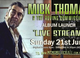 june 21 – mick thomas and the roving commission