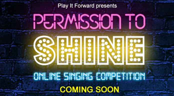 permission to shine – a new online singing competition with a difference!