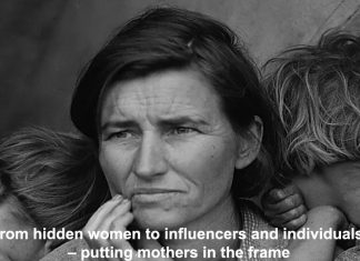 from hidden women to influencers and individuals – putting mothers in the frame