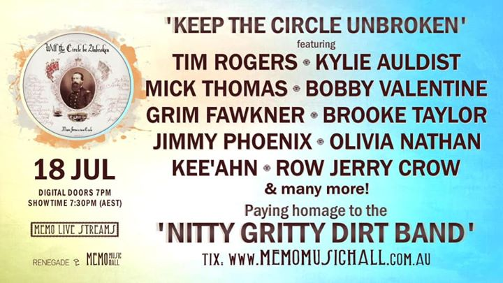 keep the circle unbroken feat. tim rogers, mick thomas & more