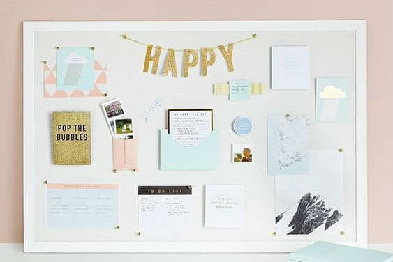 let's talk: goal setting and vision board creation