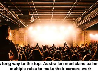 a long way to the top: australian musicians balance multiple roles to make their careers work