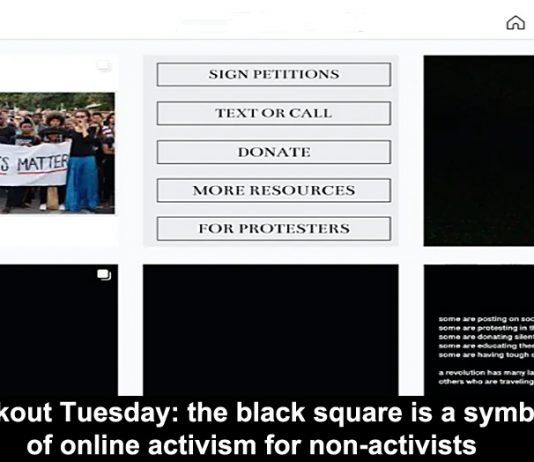 blackout tuesday: the black square is a symbol of online activism for non-activists