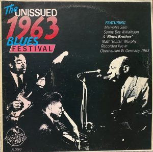 cream of the crate: album review # 174 – various artists: the unissued 1963 blues festival