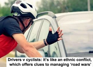 drivers v cyclists: it's like an ethnic conflict, which offers clues to managing 'road wars'