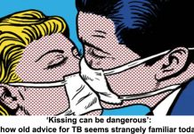 'kissing can be dangerous': how old advice for tb seems strangely familiar today