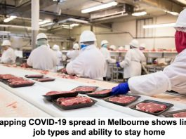 mapping covid-19 spread in melbourne shows link to job types and ability to stay home