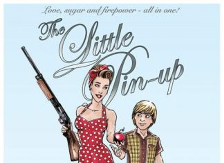 what is the little pin up?
