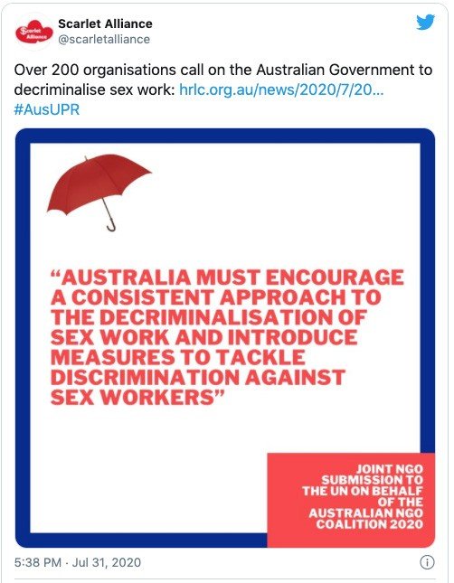 how the 'national cabinet of whores' is leading australia's coronavirus response for sex workers