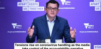 tensions rise on coronavirus handling as the media take control of the accountability narrative