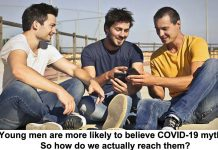 young men are more likely to believe covid-19 myths. so how do we actually reach them?