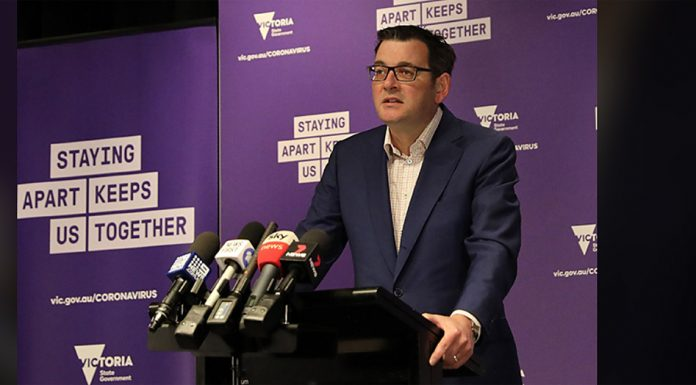 message from daniel andrews on the extension to the state of emergency