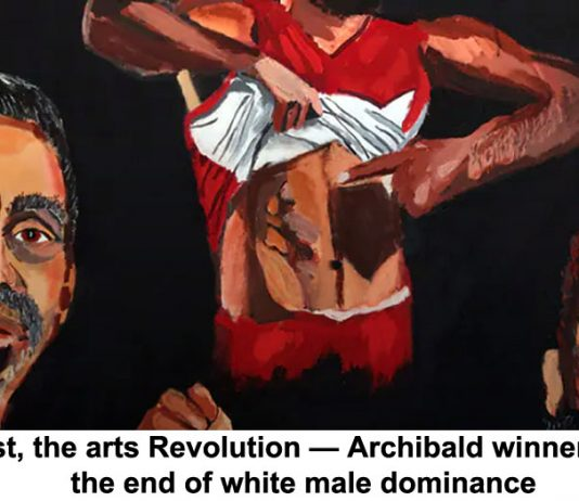 at last, the arts revolution — archibald winners flag the end of white male dominance