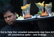 eat out to help out: crowded restaurants may have driven uk coronavirus spike – new findings