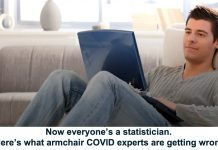 now everyone's a statistician. here's what armchair covid experts are getting wrong