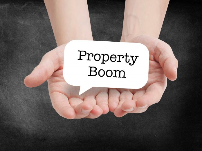 property boom starts today