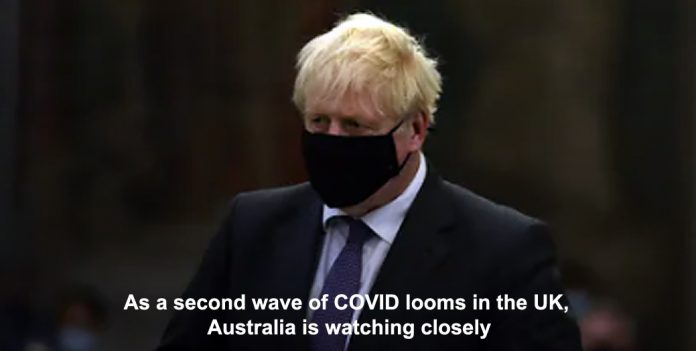 as a second wave of covid looms in the uk, australia is watching closely
