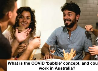 what is the covid 'bubble' concept, and could it work in australia?