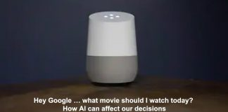 hey google … what movie should i watch today? how ai can affect our decisions