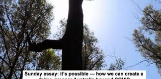sunday essay: it's possible — how we can create a fairer, greener australia beyond covid