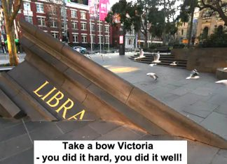 take a bow victoria – you did it hard, you did it well!
