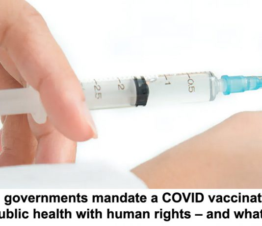 can governments mandate a covid vaccination? balancing public health with human rights – and what the law says