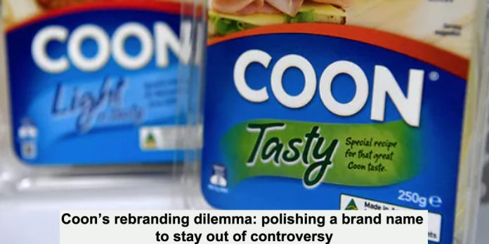 coon's rebranding dilemma: polishing a brand name to stay out of controversy