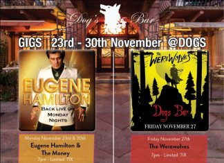 november– what's on @dogs