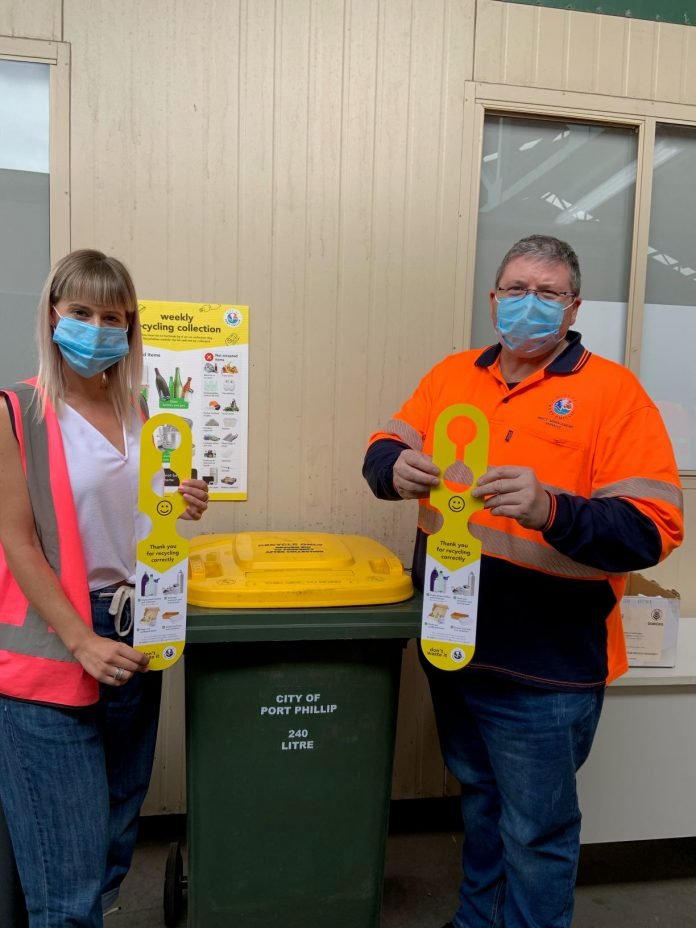 recycling reset to turnaround bin contamination