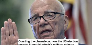 courting the chameleon: how the us election reveals rupert murdoch's political colours