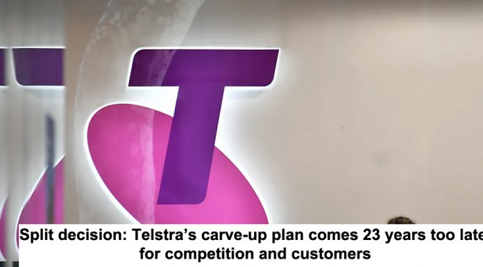 split decision: telstra's carve-up plan comes 23 years too late for competition and customers
