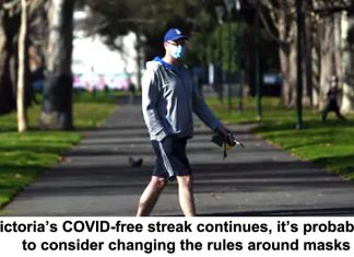 as victoria's covid-free streak continues, it's probably time to consider changing the rules around masks