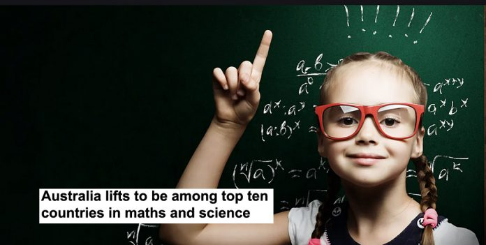 australia lifts to be among top ten countries in maths and science