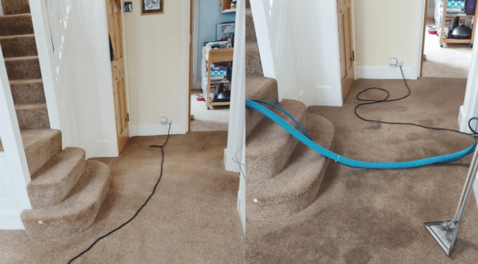 how to dry wet carpet in less time