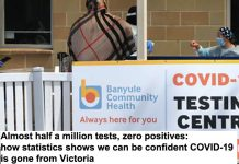 almost half a million tests, zero positives: how statistics shows we can be confident covid-19 is gone from victoria